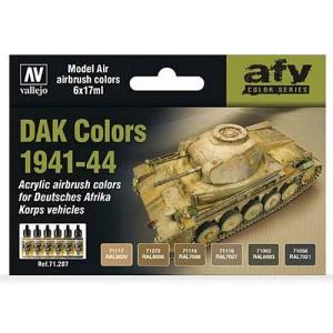 Vallejo Model Air - DAK Colors 1941-44