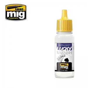 Ammo Mig Jimenez Ultra Matt, Lucky Varnish, 17ml