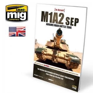 Ammo Mig Jimenez M1A2SEP Abrams main tank in Detail