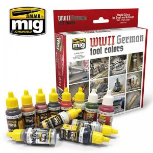 Ammo Mig Jimenez German Tools Colors