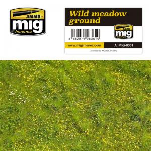Ammo Mig Jimenez Grass Mat -Wild Meadow Ground