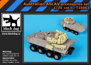 Black Dog Australian ASLAV - Accessories Set (TRU)
