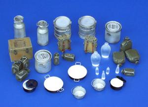 Plus Model Equipment of German Kitchen - Crockery, WWII