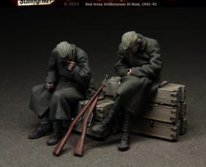 Stalingrad Figures Red Army Artillerymen At Rest