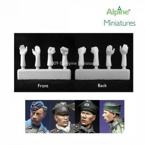Alpine Minatures Panzer Crew Heads & Hands