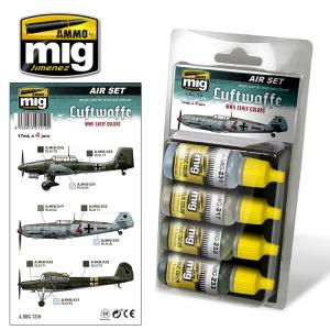 Ammo Mig Jimenez Luftwaffe WWII Early Colors