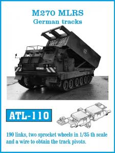Friulmodel Leichter Zugkraftwagen 1t Demag - Track Links