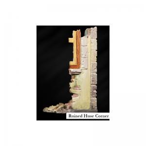 Scale75 RUINED HOUSE CORNER