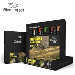 Abteilung 502 MS - Dioramas Colors Set