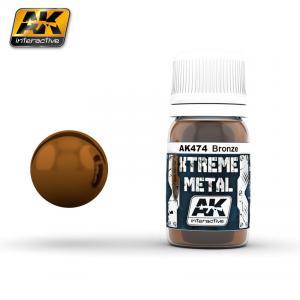 AK Interactive XTREME METAL BRONZE