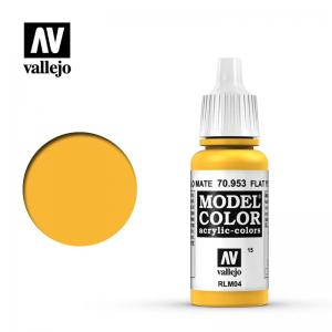 Vallejo Model Color 015 - Flat Yellow