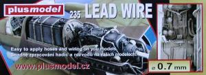 Plus Model Lead Wire 0,7 mm