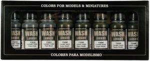 Vallejo Game Color - Washes (x8)