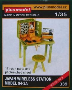 Plus Model Japanese Wireless Station Model 94-3A