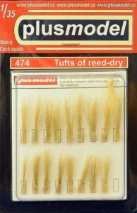 Plus Model Tufts of reed (dry)