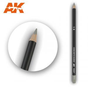 AK Interactive Watercolor Pencil Concrete Marks