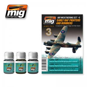 Ammo Mig Jimenez Early RAF Fighters and Bombers