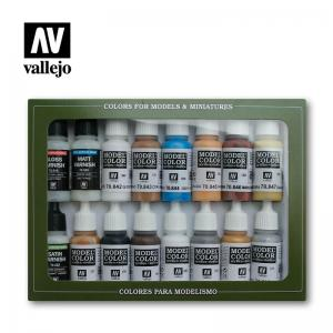 Vallejo Model Color Set - Folkstone Specialist (x16)