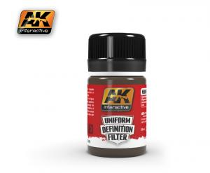AK Interactive BROWN GLAZE 35 ml