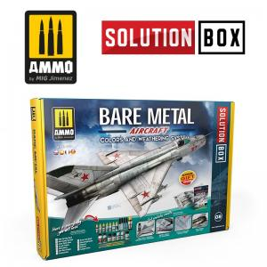 Ammo Mig Jimenez Bare Metal Aircraft Solution Box