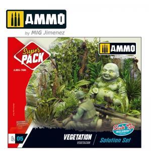 Ammo Mig Jimenez Vegetation Solution Set