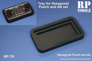 RP Toolz Tray for Hexagonal Punch and Die