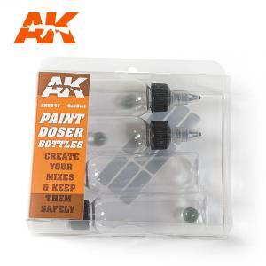 AK Interactive PAINT DOSER BOTTLES 60ML.
