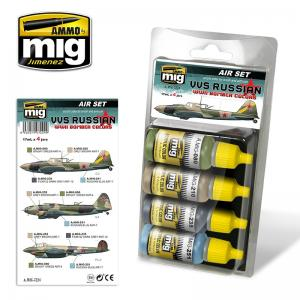 Ammo Mig Jimenez VVS Russian WWII Bomber Colors