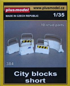 Plus Model City Blocks - Short