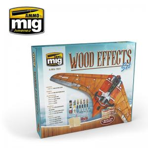 Ammo Mig Jimenez WOOD EFFECTS SET
