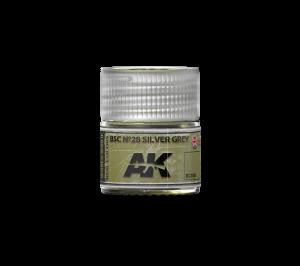 AK Interactive BSC Nº28 Silver Grey 10ml