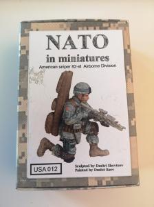 Soga Miniatures American sniper 82-st Airborne Division