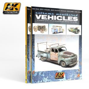 AK Interactive EXTREME WEATHERED VEHICLES - English