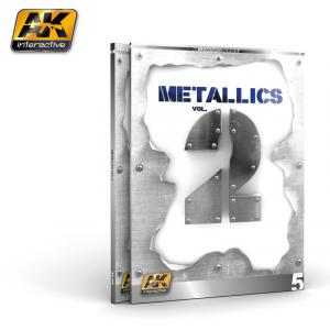 AK Interactive METALLICS VOL 2 (AK LEARNING SERIES Nº 5) English