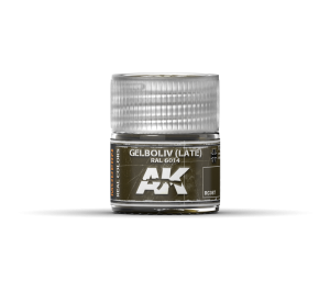 AK Interactive Gelboliv (Late) RAL 6014 10ml