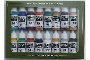 Vallejo Model Color Set - Vallejo Model Color Set - Medieval Colors