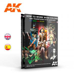 AK Interactive HOW TO WORK WITH COLORS AND TRANSITIONS - English
