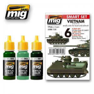 Ammo Mig Jimenez Vietnam Colors