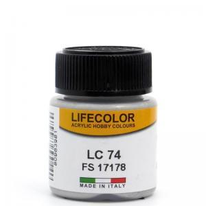 LifeColor gloss nat. metal - 22ml
