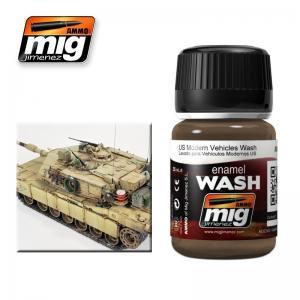 Ammo Mig Jimenez US Modern Vehicles Wash