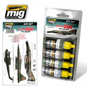 Ammo Mig Jimenez 60's-70's USAF Tac Colors (also Vietnam Era) - Smart Set