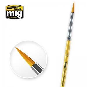 Ammo Mig Jimenez 10 Synthetic Round Brush