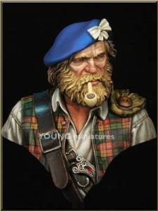 Young Miniatures Highland Clansman