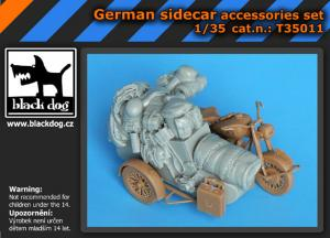 Black Dog German Sidecar Accessories Set (MBL)