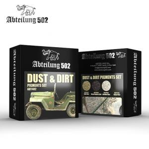 Abteilung 502 DUST & DIRT - PIGMENTS SET