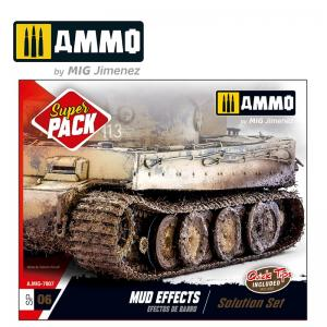Ammo Mig Jimenez Mud Effects Solution Set
