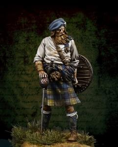 Michael Kontraros Mortal Enemies Culloden Scottish Clansman 75mm