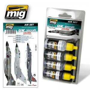 Ammo Mig Jimenez UK Aircraft Colors from 50's to present.