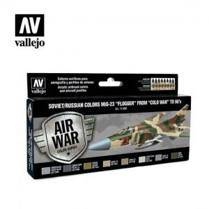"Vallejo Model Air - Soviet/Russian Colors MiG-23 Flogger ""Cold War"""