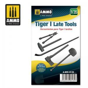 Ammo Mig Jimenez Tiger I Late tools